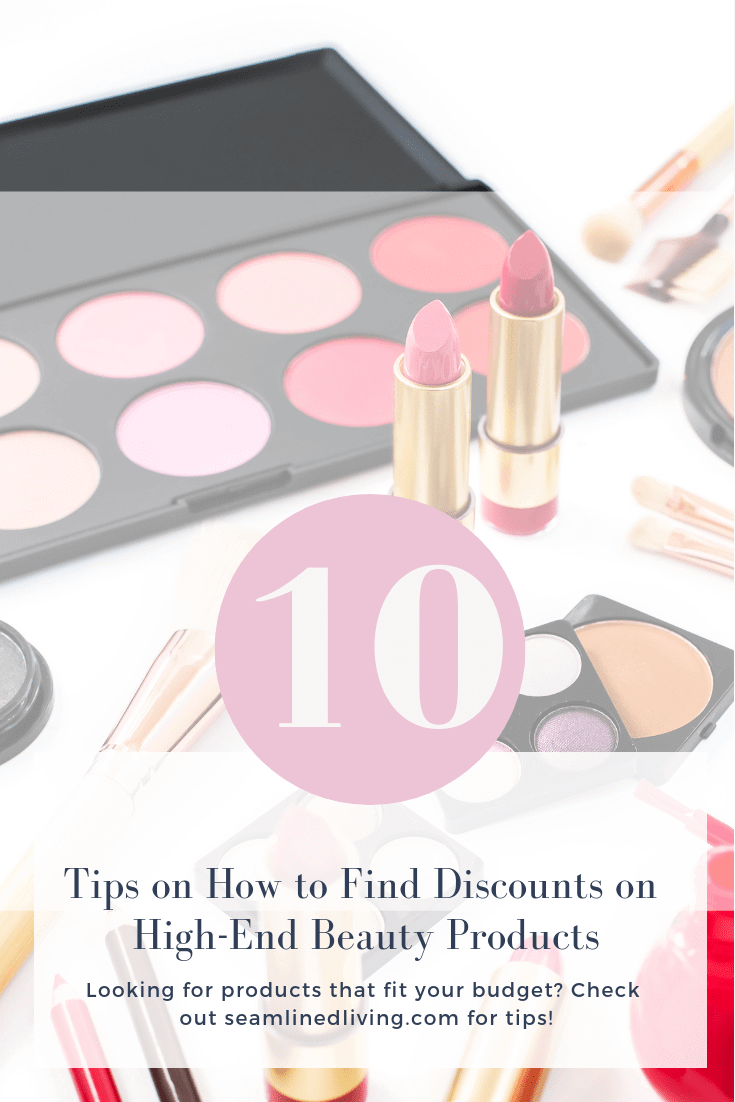 10 Tips for Finding High-End Beauty Discounts