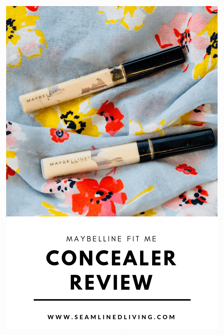 Maybelline Fit Me Concealer Review - Drugstore Concealers