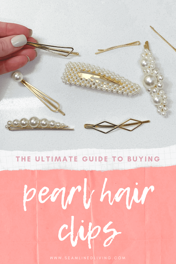 Where to Buy Pearl Hair Clips & Barrettes