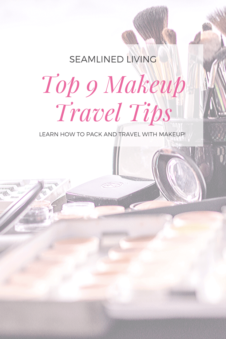 Makeup Tips - How to Travel with Makeup