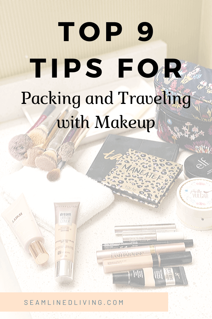 Tips for Traveling with Makeup