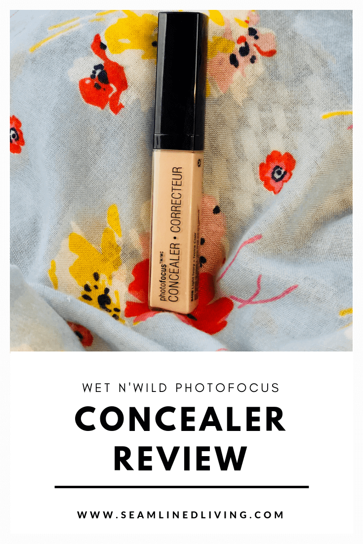 Wet N Wild Concealer Review - Drugstore Concealers | Seamlined Living