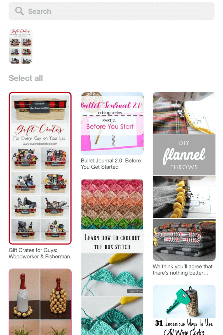Learn How to Organize your Pinterest Boards with Sections | Seamlined Living