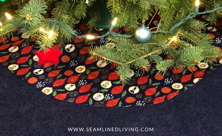 diy tree skirt project