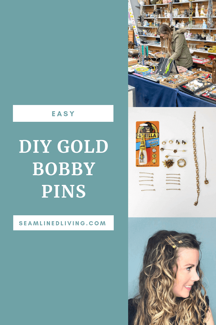 How To Decorate Bobby Pins Diy Hair Accessories Seamlined Living