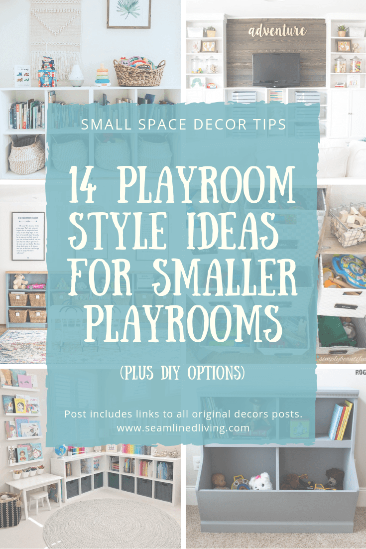 Playroom Inspiration for Small Spaces in Your Home