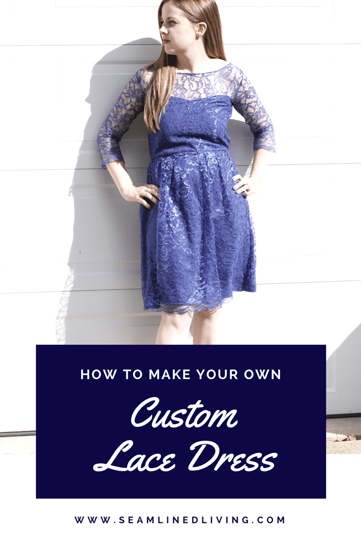 how to create a lace dress