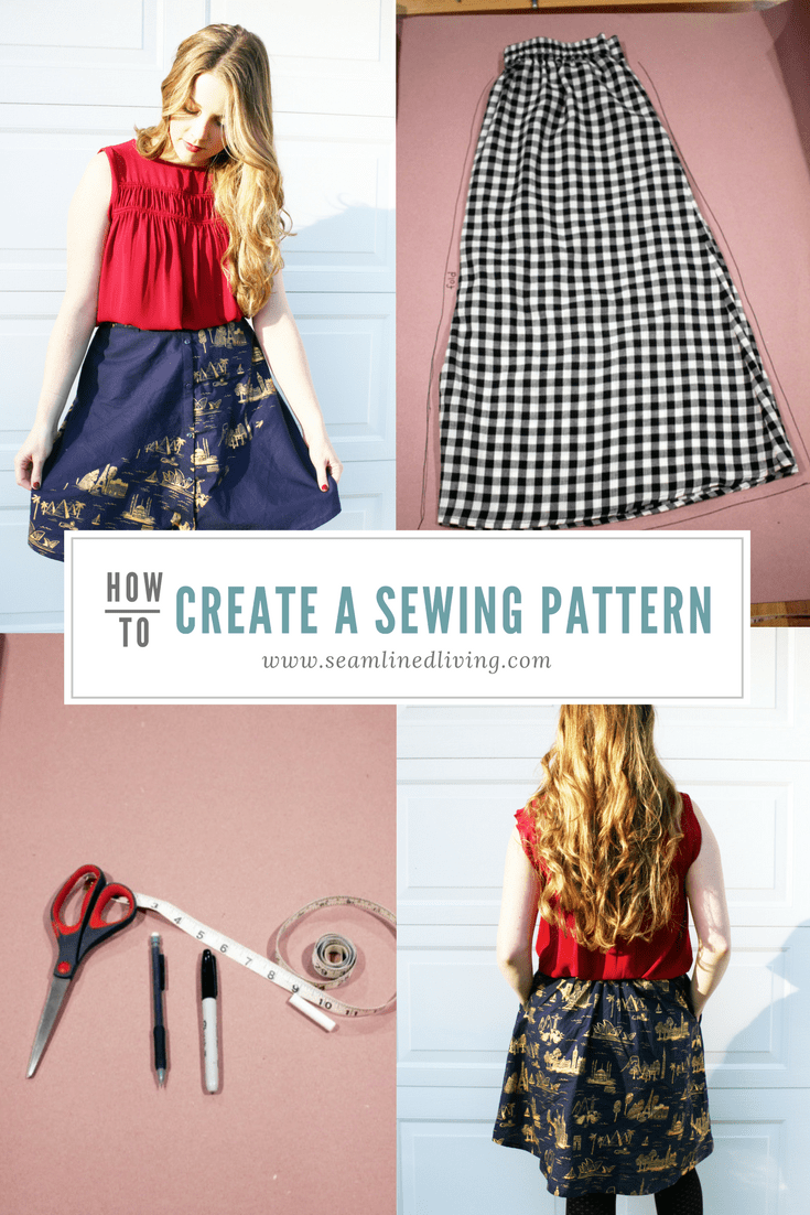 How to Create a DIY Sewing Pattern| Seamlined Living