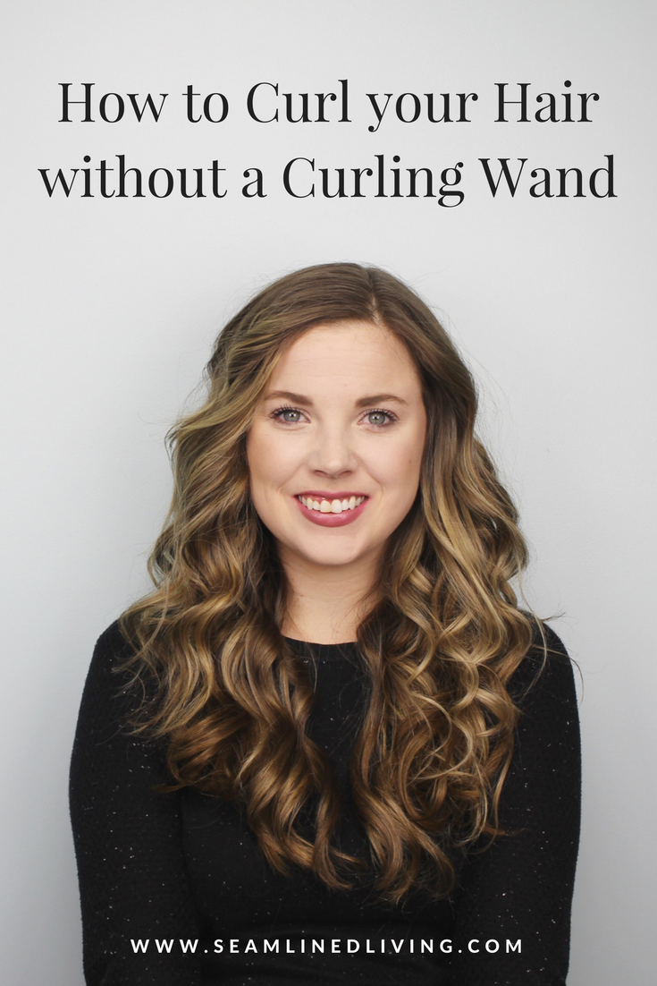 Learn How to Curl your Hair & Get Large Loose Beach Waves | Seamlined Living