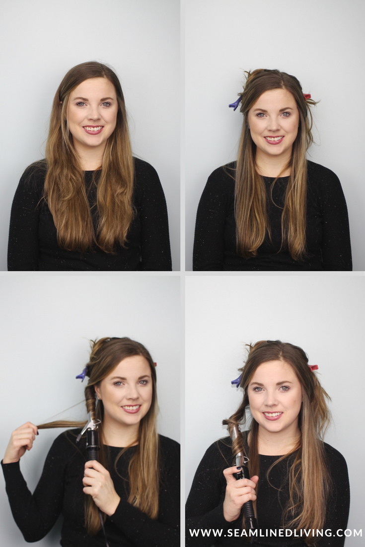 Steps on How to Curl Your Hair without a Curling Wand | Seamlined Living