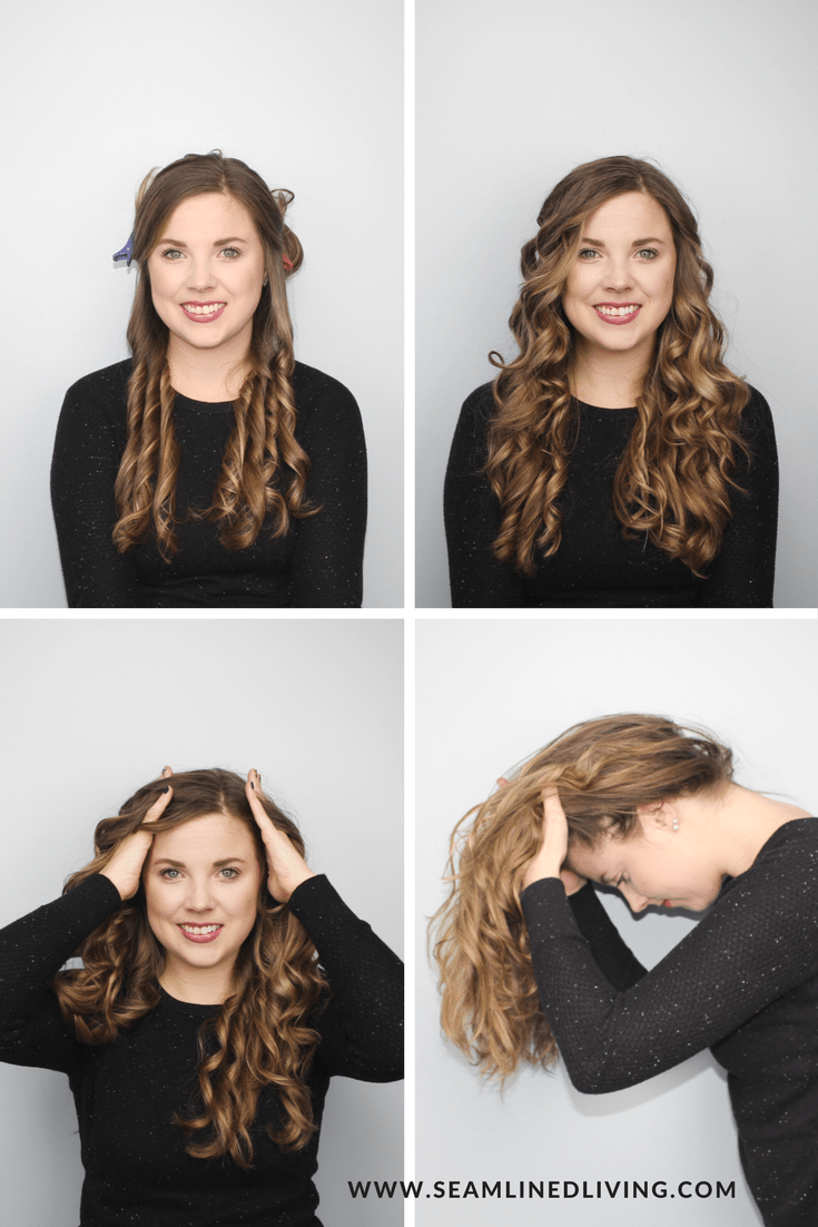 Steps to Curl Your Hair | Seamlined Living