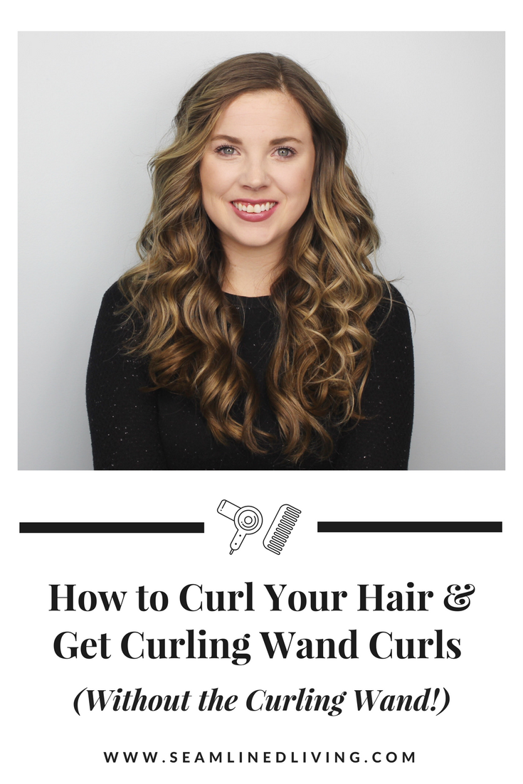 How to Curl Your Hair without a Curling Wand Seamlined Living