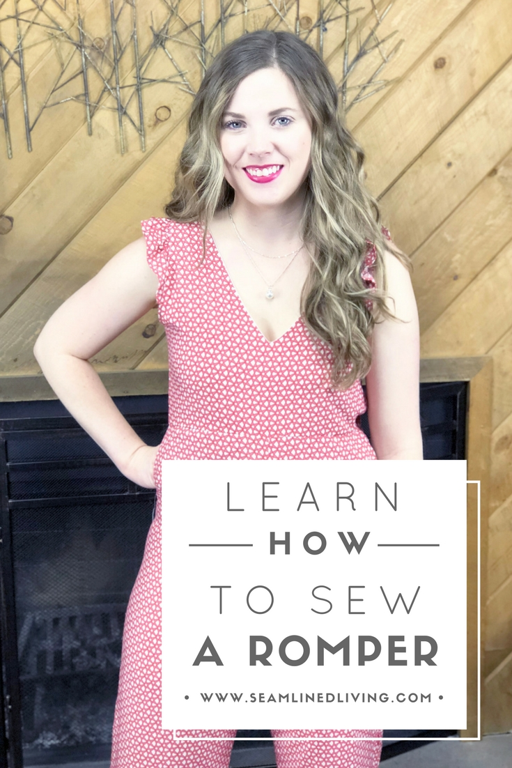 Learn How to Make a Romper with this Free Sewing Pattern | Seamlined Living