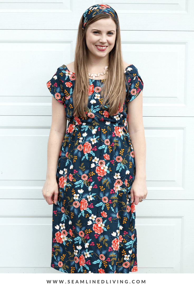 DIY Midi Dress - How to Sew a Dress | Seamlined Living