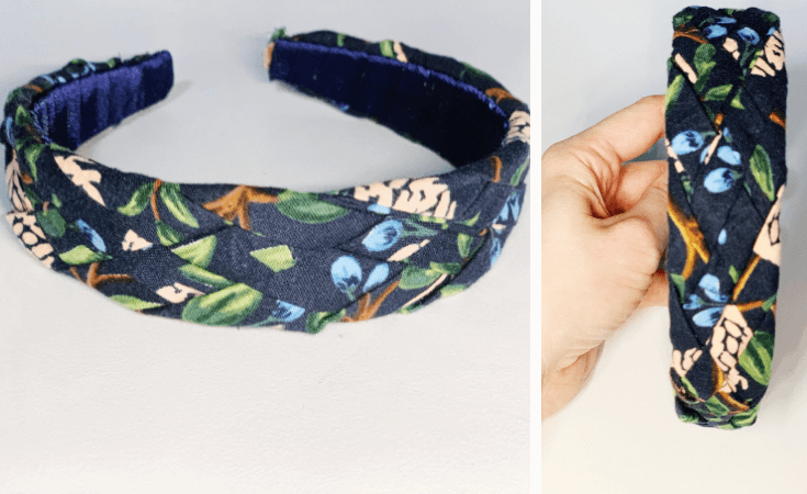 diy fabric headband