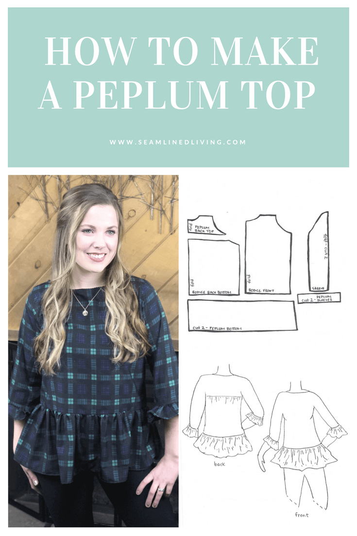 How to Make a Peplum Top | Seamlined Living - Sewing Patterns