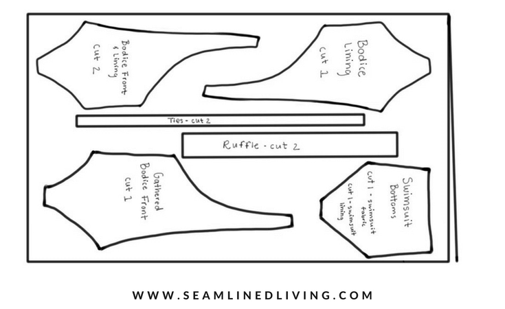 One-Piece Swimsuit Pattern