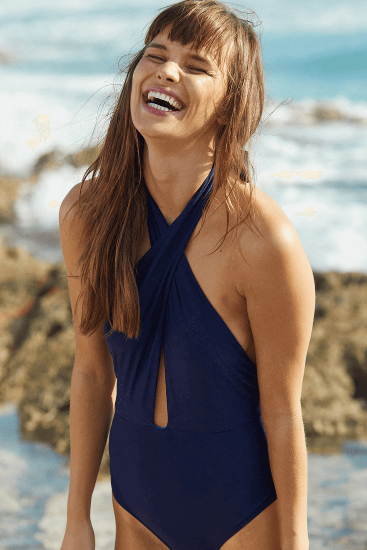 2018 Spring And Summer One Piece Swimsuits Seamlined Living