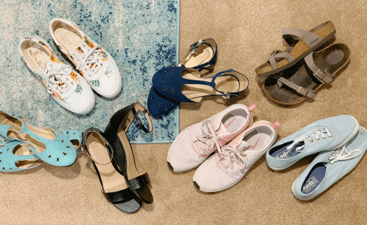 spring and summer shoe trends I'm loving