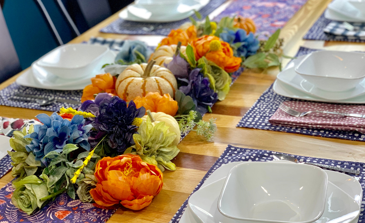 Thanksgiving Table Decorations + Tips for Hosting
