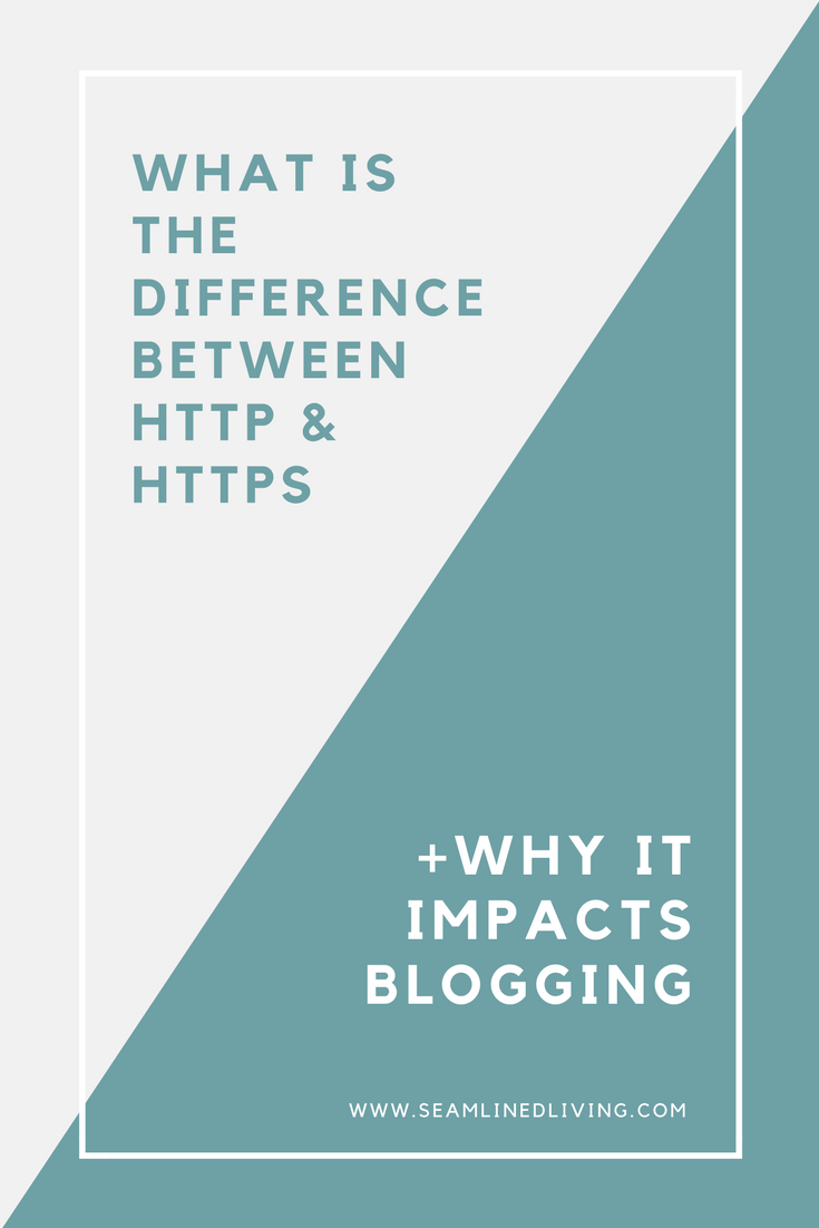 HTTP to HTTPS | What is the difference between HTTP & HTTPS | Seamlined Living