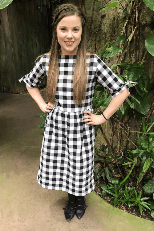diy fit and flare midi dress