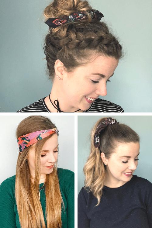 hair scarf style tips