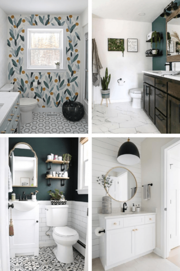 6 Bathroom Wall Design Ideas for Your Small Bathroom Remodel
