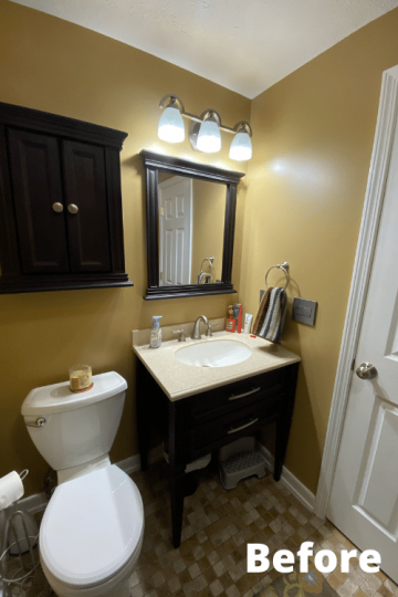 Our Small Full Bathroom Renovation